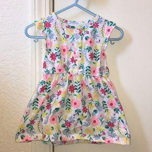 Carter's floral baby dress
